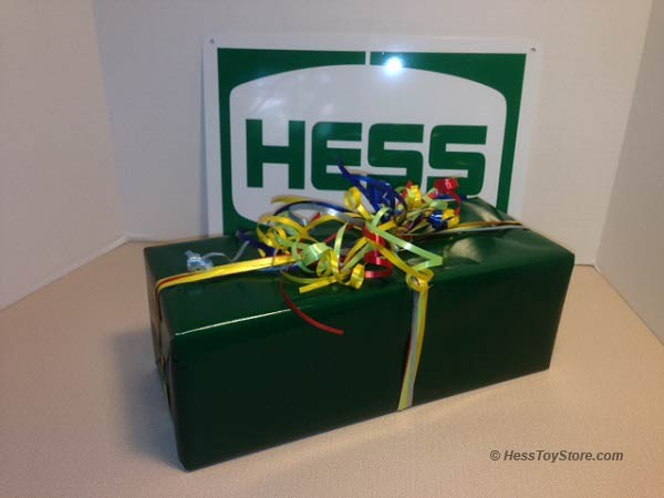 Hess Holiday Gift Wrapping