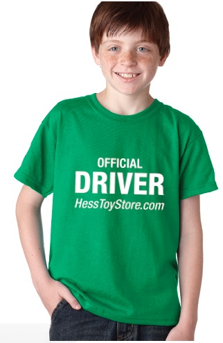 Official Driver T-Shirt from the Hess Toy Store