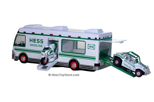 Hess Toy Trucks Out of Box