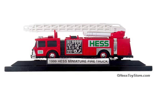 1999 Mini Hess Fire Engine