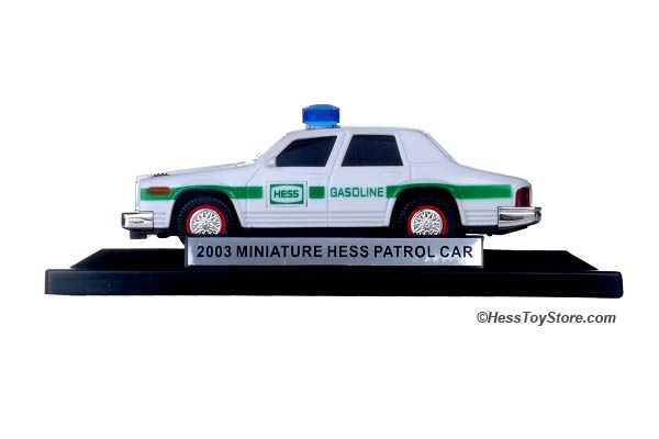 2003 Mini Hess Patrol Car