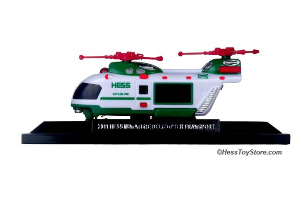 2011 Mini Hess Helicopter