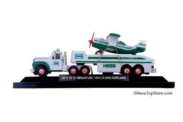 2012 Mini Hess Truck & Airplane