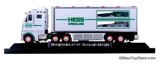 2013 Mini Hess 18 Wheeler Truck & Racers