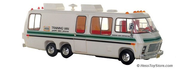 1980 Hess Training Van
