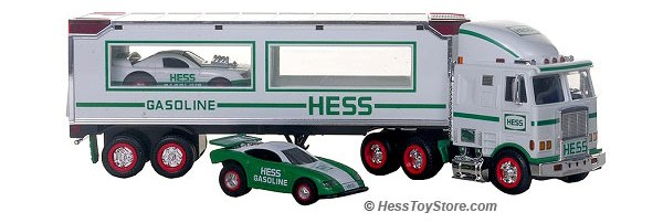 1997 Hess Toy Truck And Racers Jackie S Toy Store