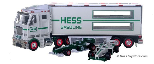 2003 Hess Truck and racers