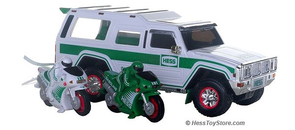 2004 Hess Truck & Motorcycles