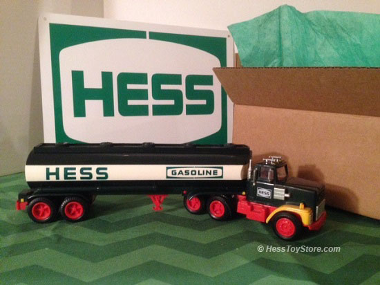 Hess 1984 Brown Box