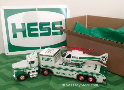 Hess 1995 Brown Box
