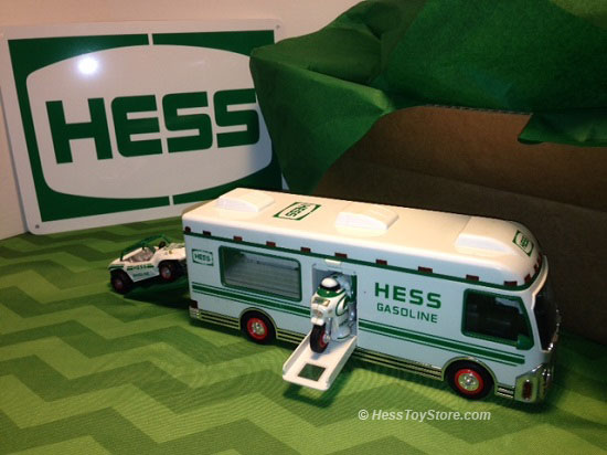 Hess 1998 Brown Box
