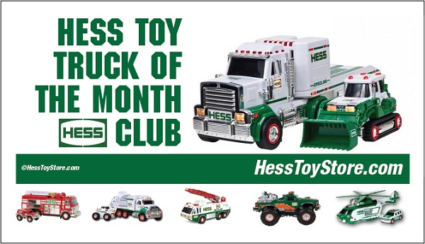 Hess Truck of Month