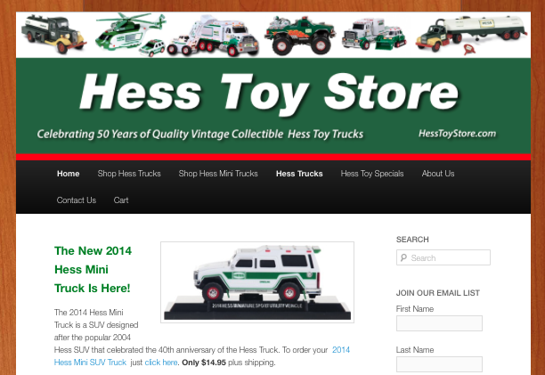 Hess Toy Trucks Online Shopping