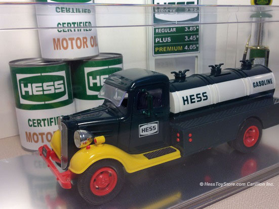 Hess 1985 Truck in Deluxe Display Case