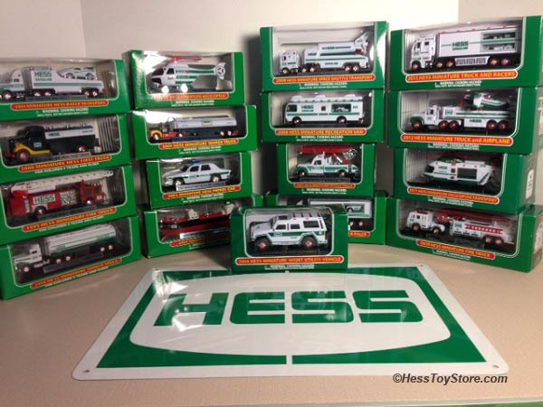 Hess Minis Complete Collection