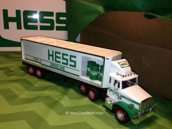 Hess 1987 Brown Box
