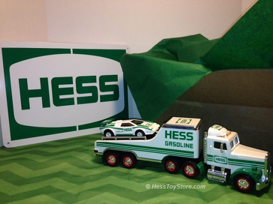 Hess 1991 Brown Box