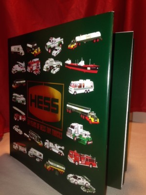 Hess Toy Truck Official 50th Anniversary Book Jackie S