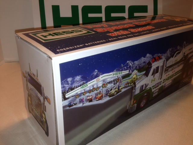 Hess 2014 Truck Replacement Box Only