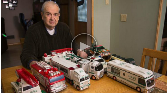 Hess Trucks Collecting