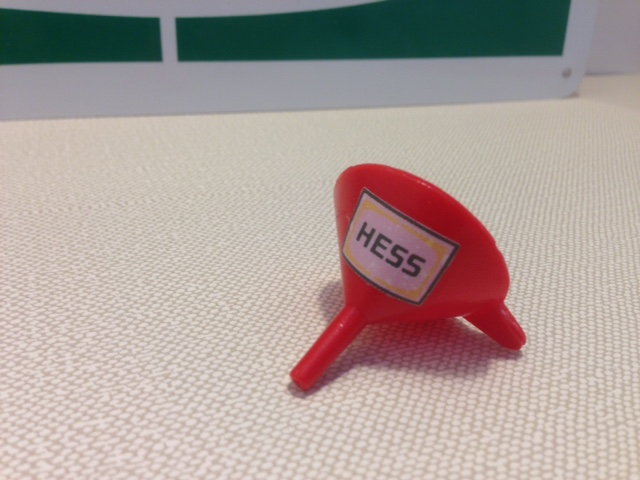 Hess 1964 Red Funnel Repro with Decal