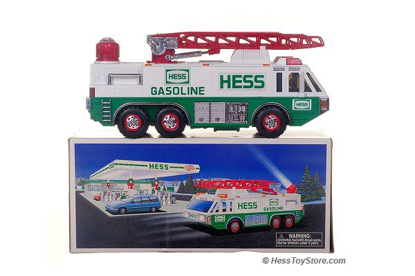 Hess 1996 Emergency Truck New in Box!