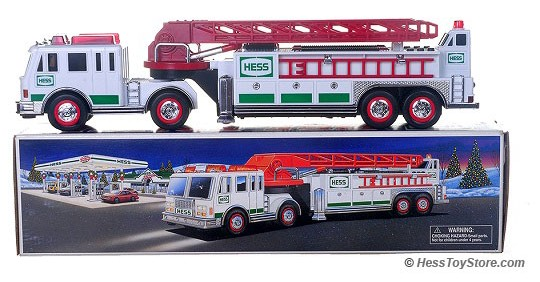 Hess 2000 Fire Truck | Hess Toys for Sale | Jackie's Toy Store