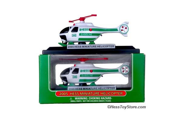 2005 Mini Hess Helicopter