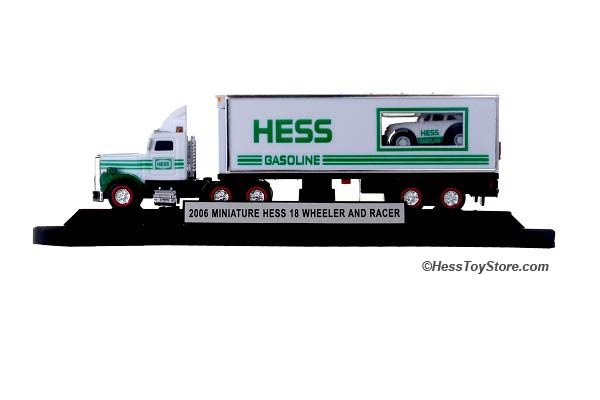 2006 Hess Mini Truck /& Racer