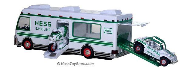 1998 Hess RV With Dune Buggy & Cycle