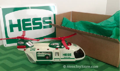 Hess 2001 Brown Box
