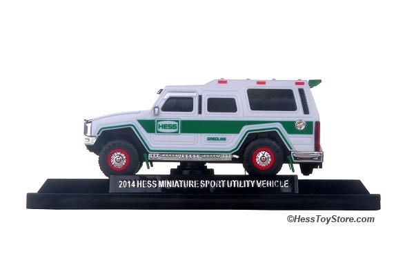 2014 MINI Hess Miniature Sport Utility Vehicle NEW FRESH FROM CASE NEW