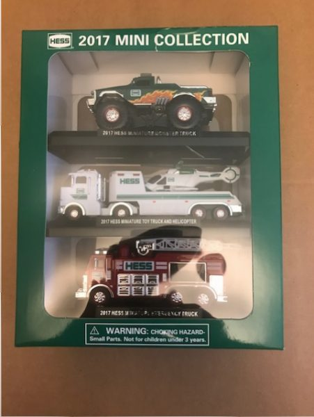 hess truck with helicopter with 2017 Hess Mini Collection Dented on 282104177426 also Hess Trucks moreover 77th tshirts further 1968 Hess Tanker Truck Loose Truck Sale together with Perfect Pairs.