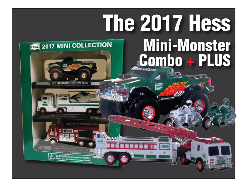 2017 Hess Mini Collection Hess Toys For Sale Jackie S